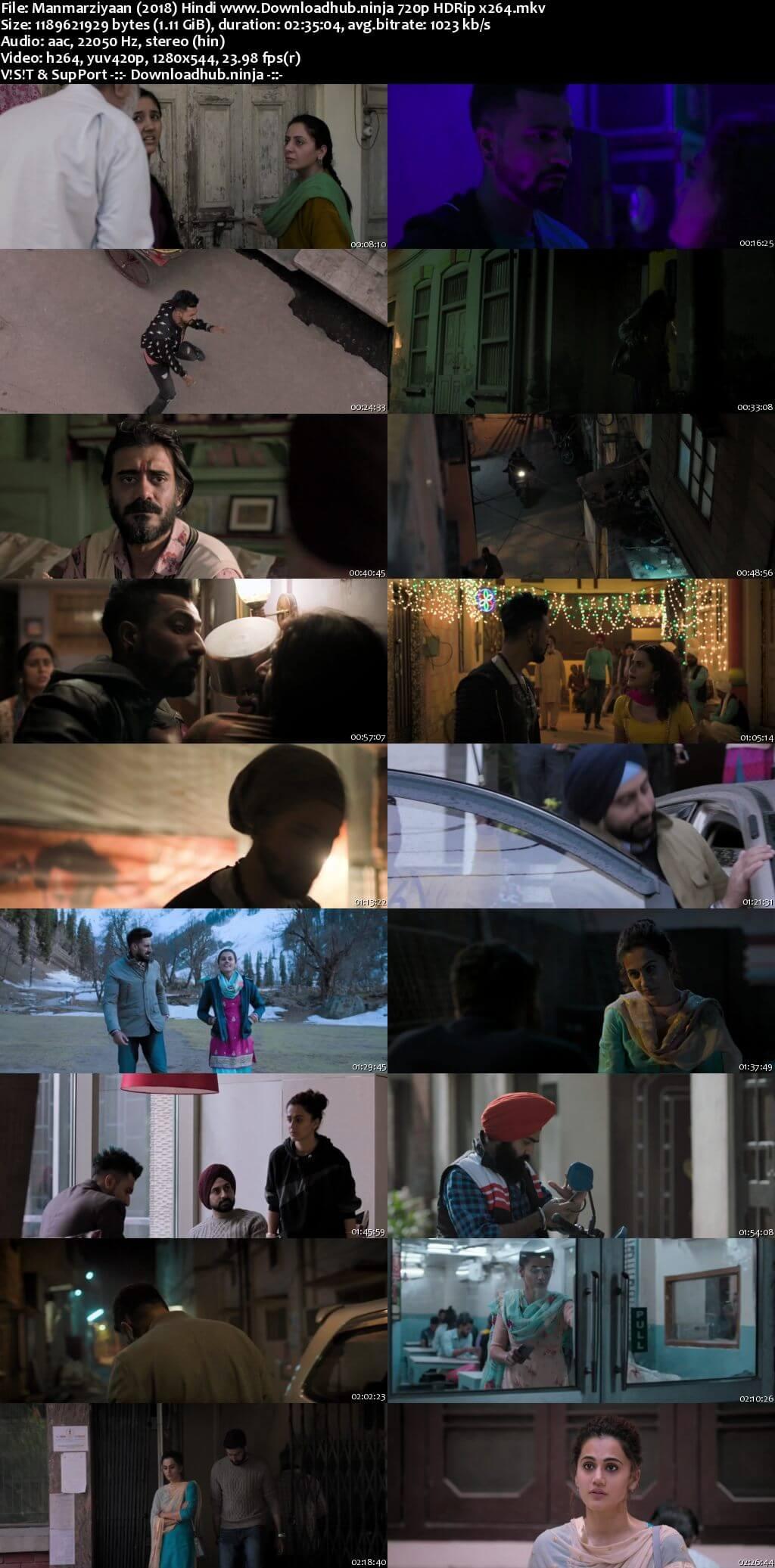 Manmarziyaan 2018 Hindi 720p HDRip x264