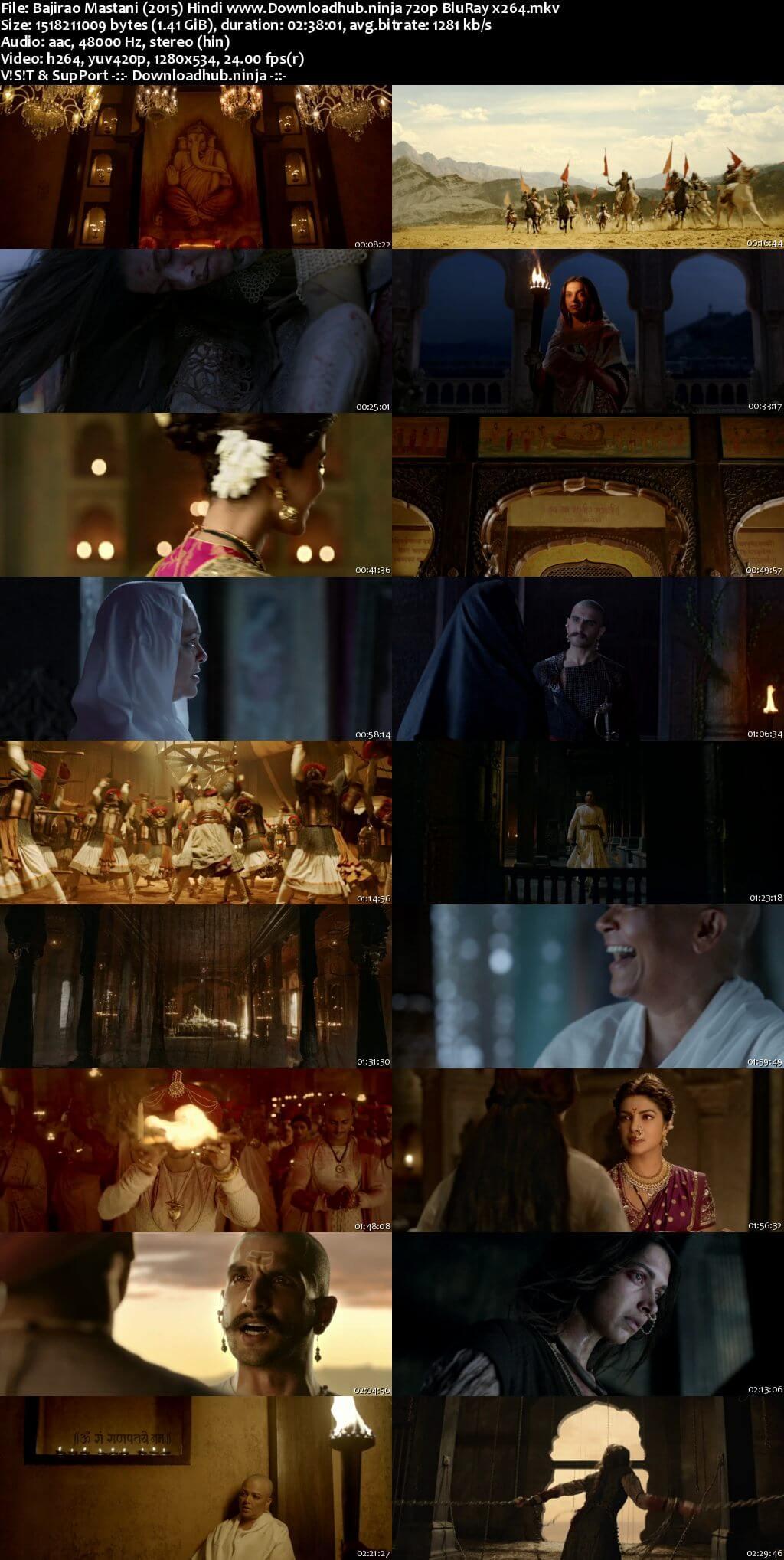 Bajirao Mastani 2015 Hindi 720p BluRay x264