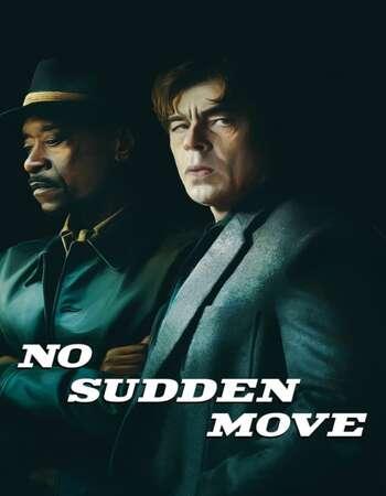 No Sudden Move 2021 English 720p Web-DL 900MB ESubs