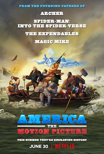 America The Motion Picture 2021 Dual Audio Hindi Movie Download