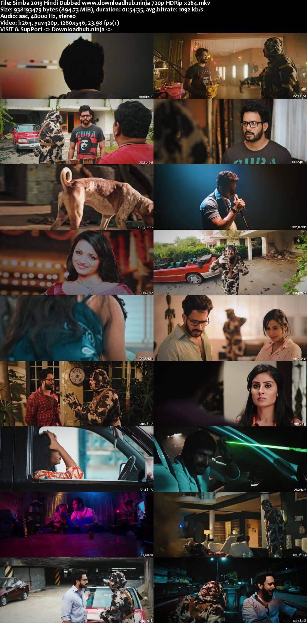 Simba 2019 Hindi Dubbed 720p HDRip x264
