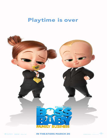 The Boss Baby Family Business 2021 English 720p Web-DL 900MB ESubs