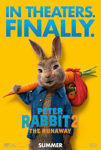 Peter Rabbit 2 The Runaway 2021 English Movie Download