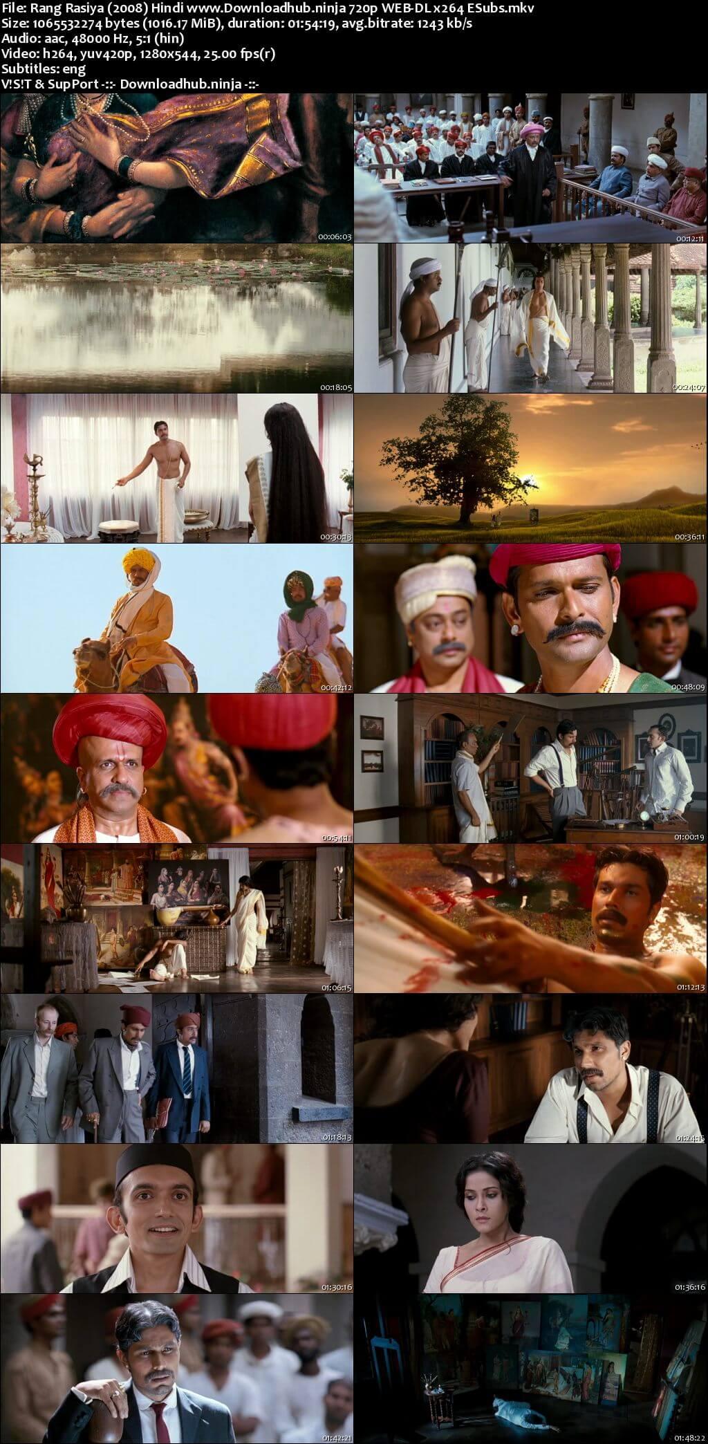 Rang Rasiya 2008 Hindi 720p HDRip ESubs