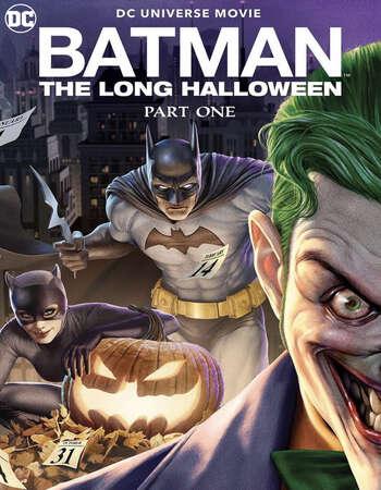 Batman The Long Halloween Part One 2021 English 720p BRRip 750MB ESubs
