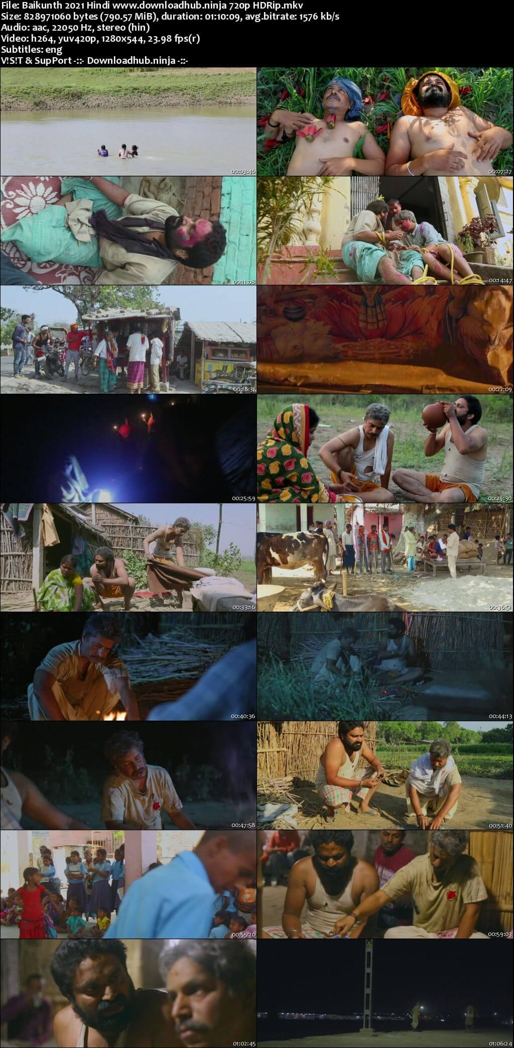 Baikunth 2021 Hindi 720p HDRip ESubs
