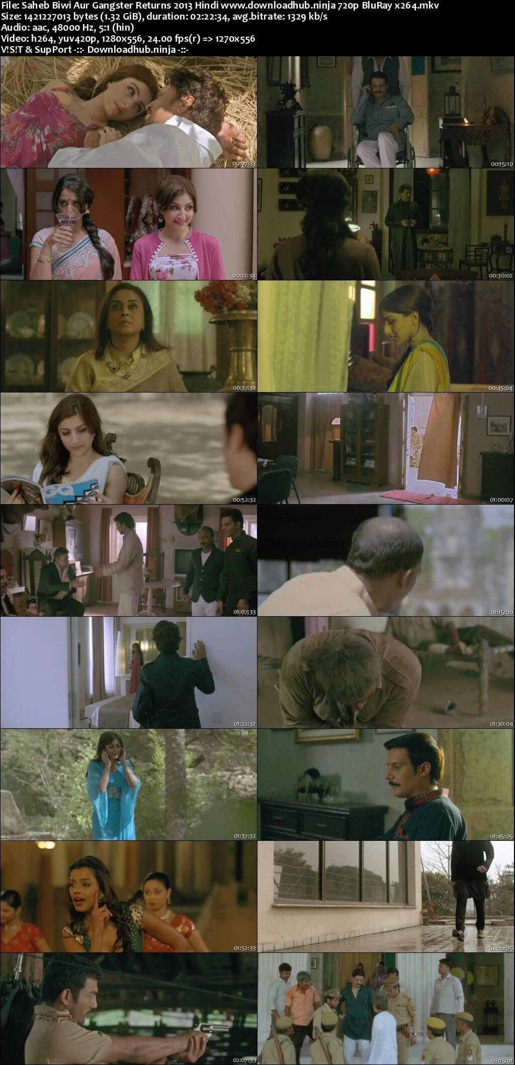 Saheb Biwi Aur Gangster Returns 2013 Hindi 720p BluRay x264