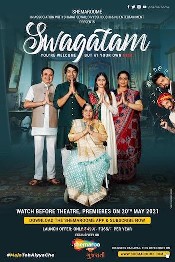 Swagatam 2021 Gujarati 720p WEB-DL 900mb