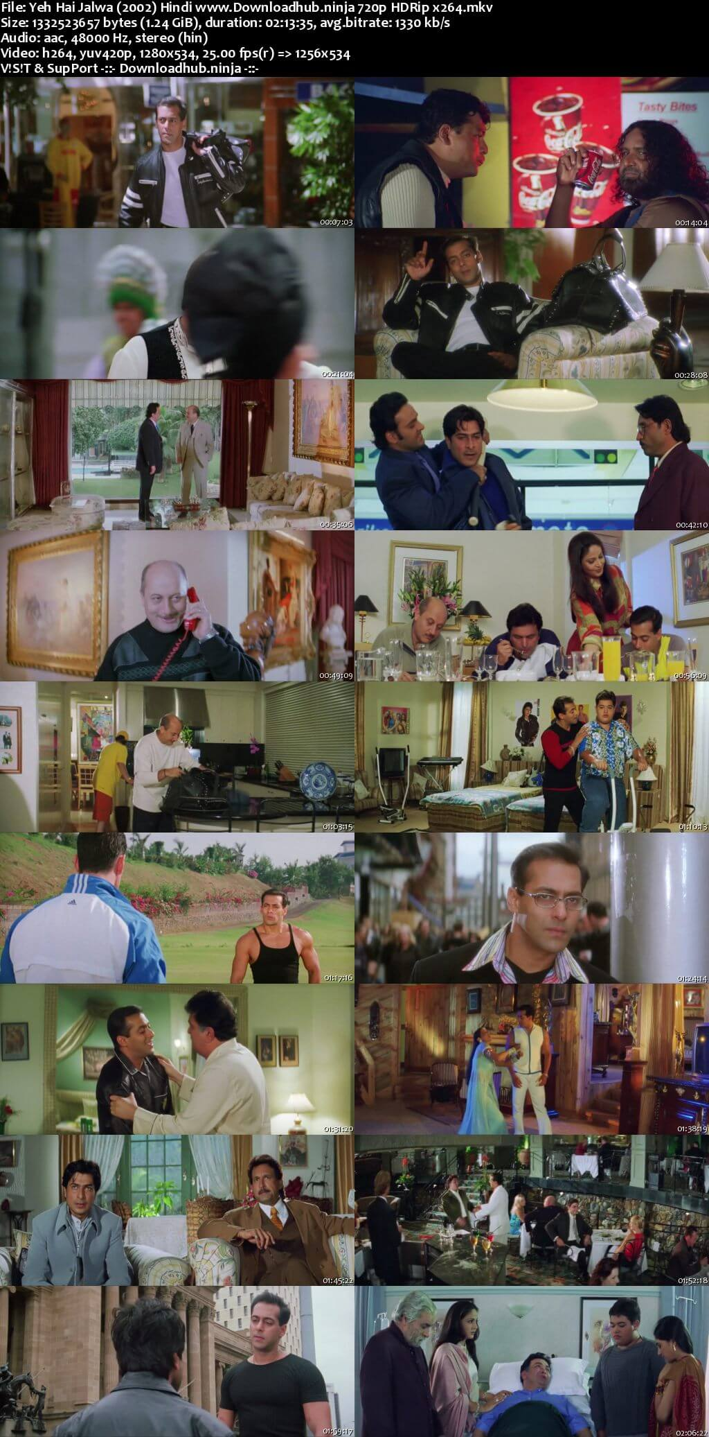 Yeh Hai Jalwa 2002 Hindi 720p HDRip x264
