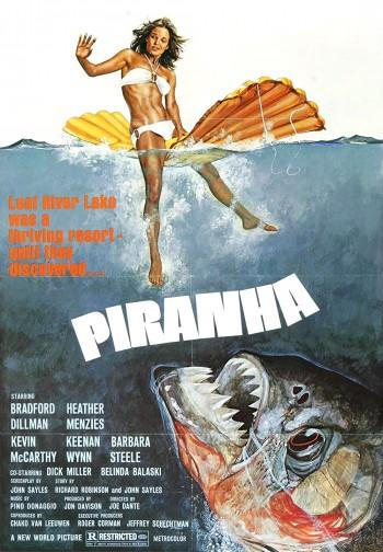 Piranha 1978 Dual Audio Hindi English BRRip 720p 480p Movie Download