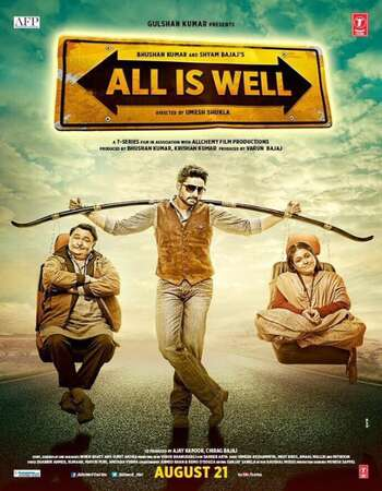 All Is Well 2015 Hindi 720p HDRip x264