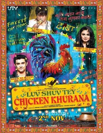 Luv Shuv Tey Chicken Khurana 2012 Hindi 720p DVDRip ESubs Download