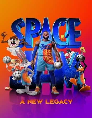 Space Jam A New Legacy 2021 English 720p Web-DL 850MB ESubs