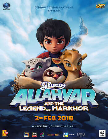 Allahyar and the Legend of Markhor 2018 Full Urdu Movie 720p HDRip Download