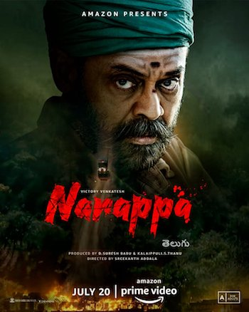 Narappa 2021 Telugu 720p HDRip ESubs