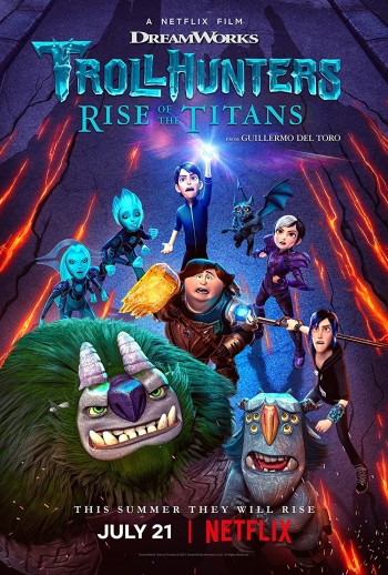 Trollhunters Rise of the Titans 2021 Dual Audio Hindi Portugues Web-DL 720p 480p Movie Download