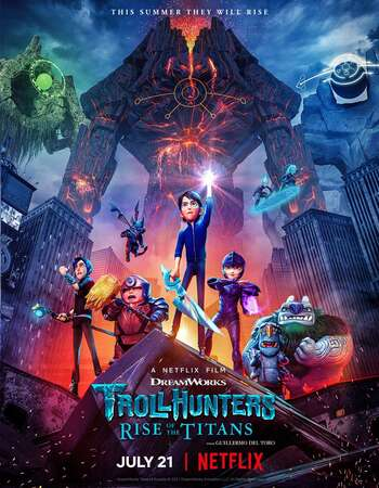 Trollhunters Rise of the Titans 2021 Hindi Dual Audio Web-DL Full Movie 720p HEVC Download