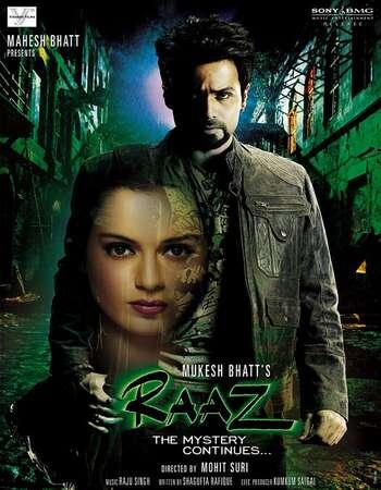 Raaz The Mystery Continues 2009 Hindi 720p HDRip ESubs