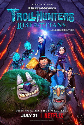 Trollhunters Rise of the Titans 2021 Dual Audio Hindi Movie Download