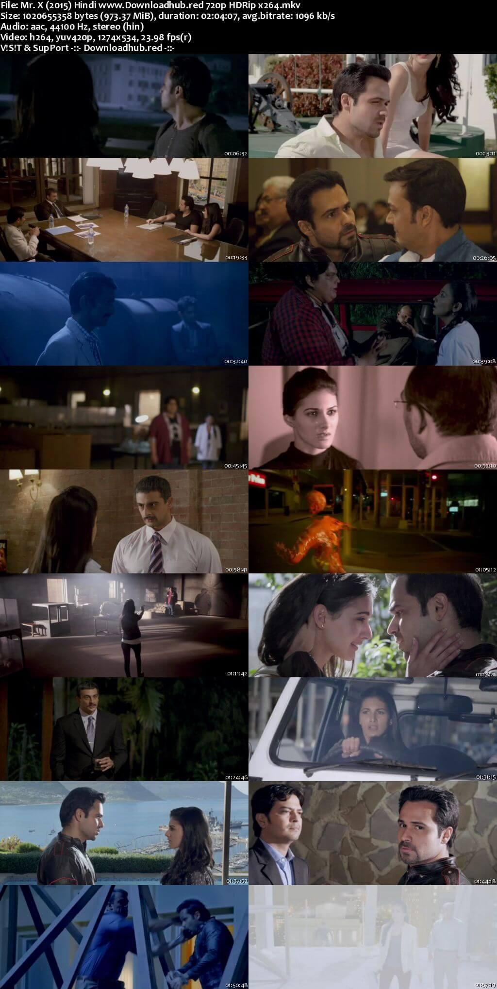 Mr. X 2015 Hindi 720p HDRip x264