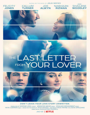 The Last Letter from Your Lover 2021 Hindi Dual Audio 600MB Web-DL 720p MSubs HEVC