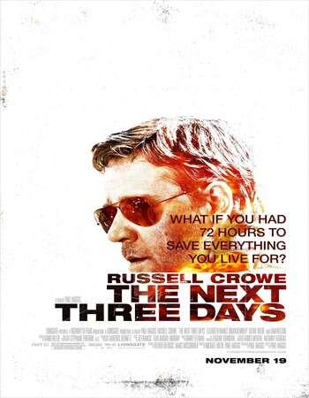 The Next Three Days 2010 Hindi Dual Audio 700MB BluRay 720p ESubs HEVC