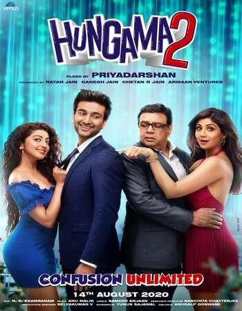 Hungama 2 2021 Hindi 800MB HDRip 720p ESubs HEVC