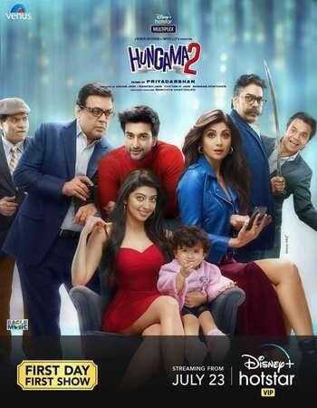 Hungama 2 2021 Hindi 1080p HDRip 2.4GB ESubs