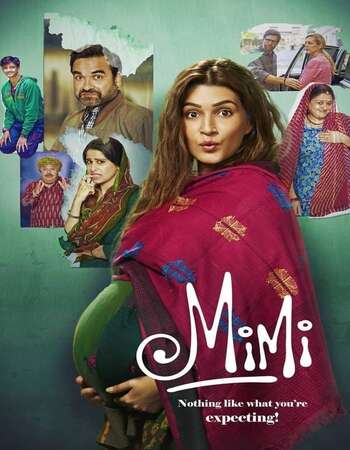 Mimi 2021 Hindi 650MB HDRip 720p ESubs HEVC