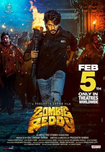 Zombie Reddy 2021 UNCUT Dual Audio Hindi 720p HDRip 1GB