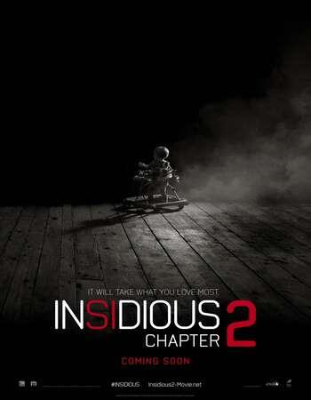 Insidious Chapter 2 2013 Hindi Dual Audio 350MB BluRay 480p