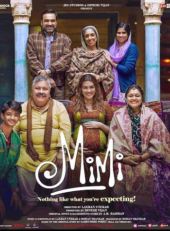 Mimi 2021 Hindi 1080p HDRip 2.1GB ESubs