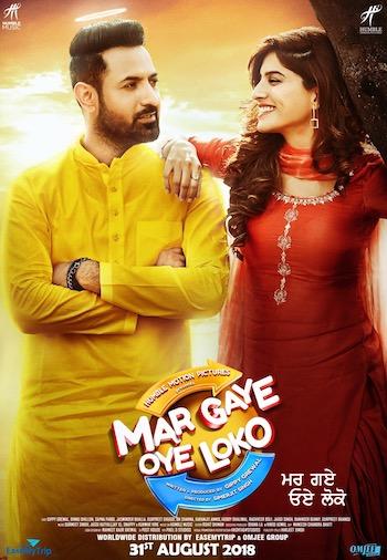 Mar Gaye Oye Loko 2018 Punjabi 720p HDTV 850mb