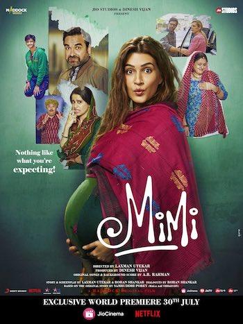 Mimi 2021 Hindi 720p WEB-DL 950MB