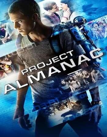 Project Almanac 2015 Hindi Dual Audio 300MB BluRay 480p ESubs