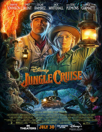 Jungle Cruise 2021 Hindi (CAM Cleaned) Dual Audio 1080p Web-DL 2.1GB MSubs