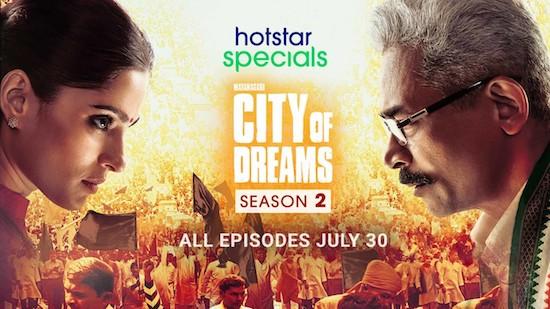 City Of Dreams 2021 S02 Hindi 720p 480p WEB-DL 3GB