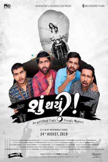 Shu Thayu 2018 Gujarati 480p WEB-DL 350mb