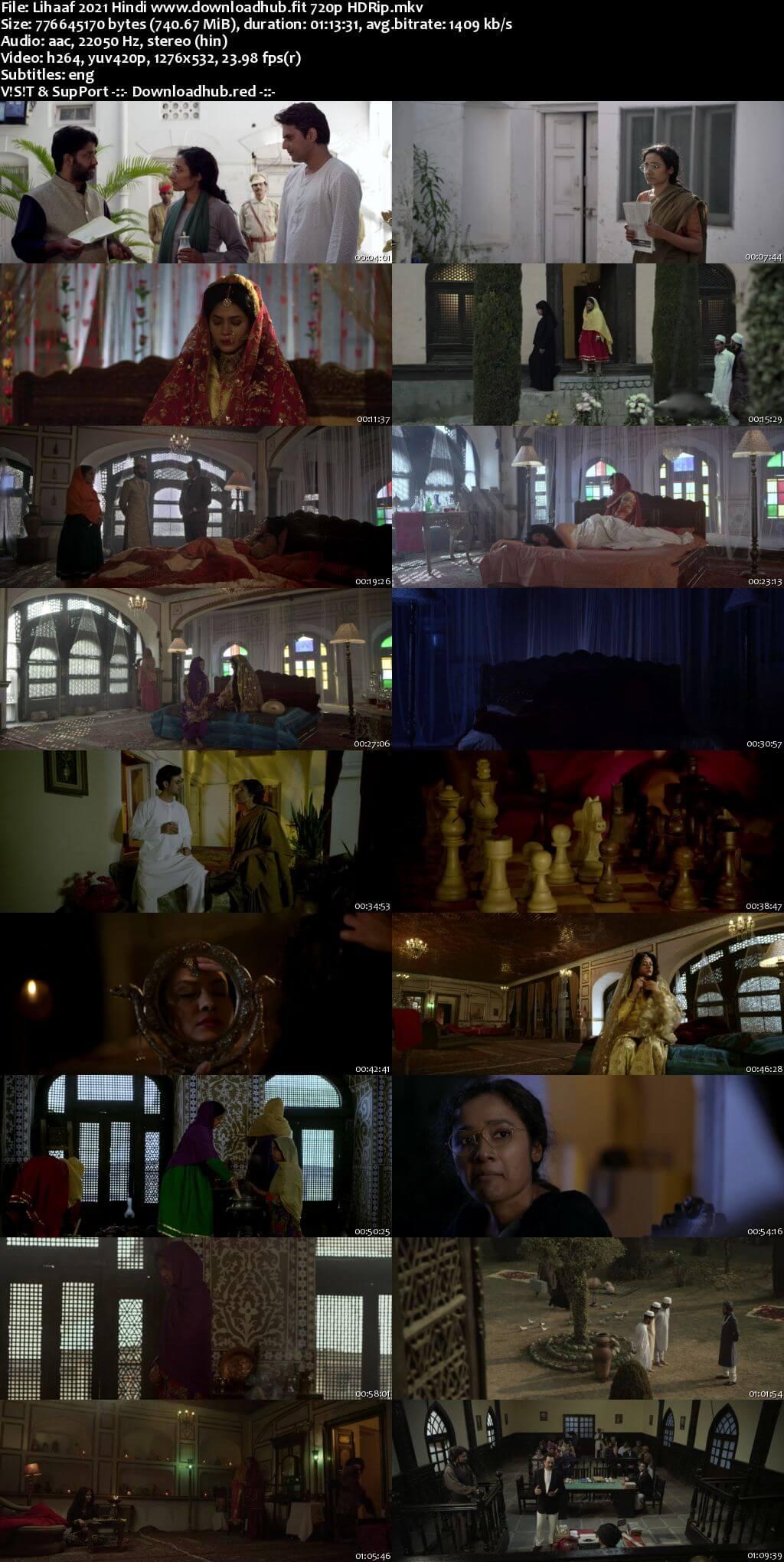 Lihaaf 2021 Hindi 720p HDRip ESubs