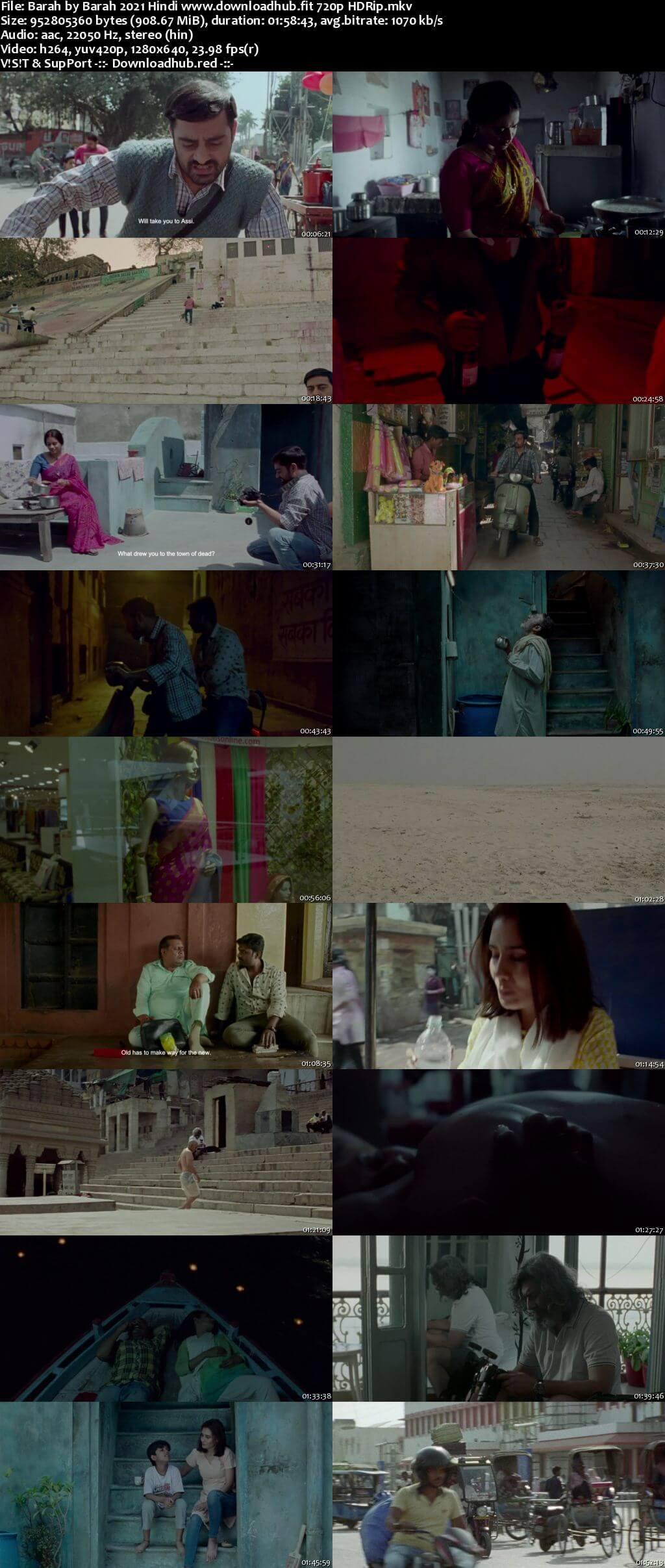 Barah by Barah 2021 Hindi 720p HDRip x264