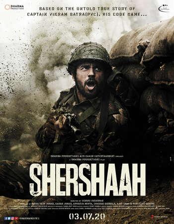 Shershaah 2021 Full Hindi Movie 720p HDRip Download