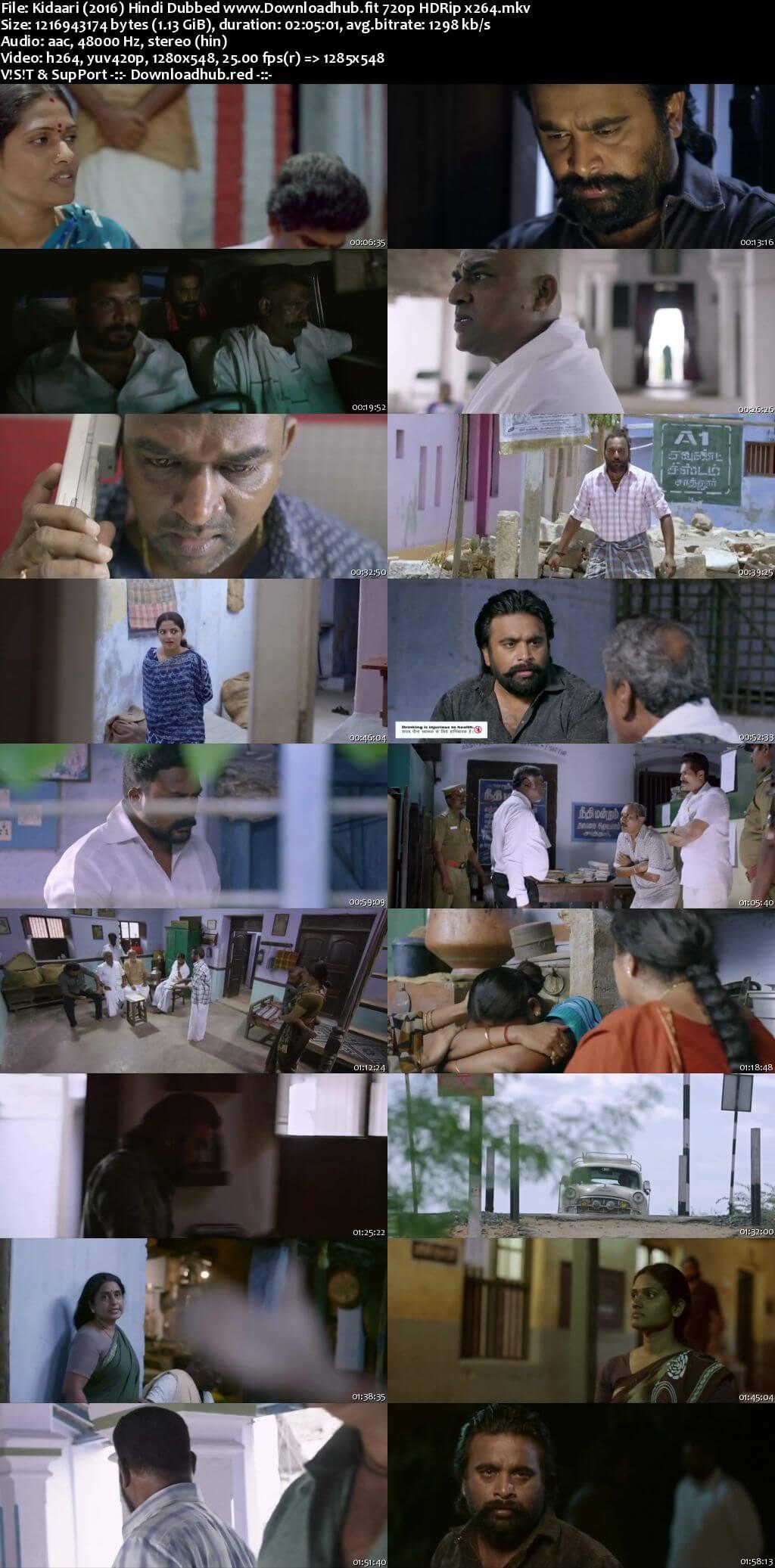 Kidaari 2016 Hindi Dubbed 720p HDRip x264
