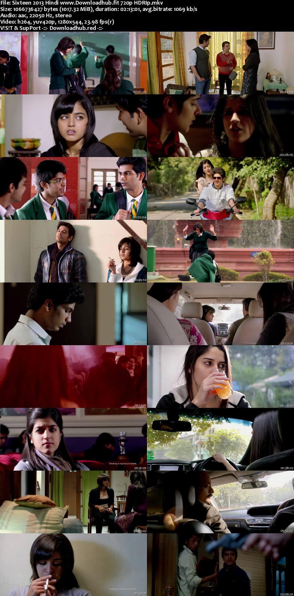Sixteen 2013 Hindi 720p HDRip x264
