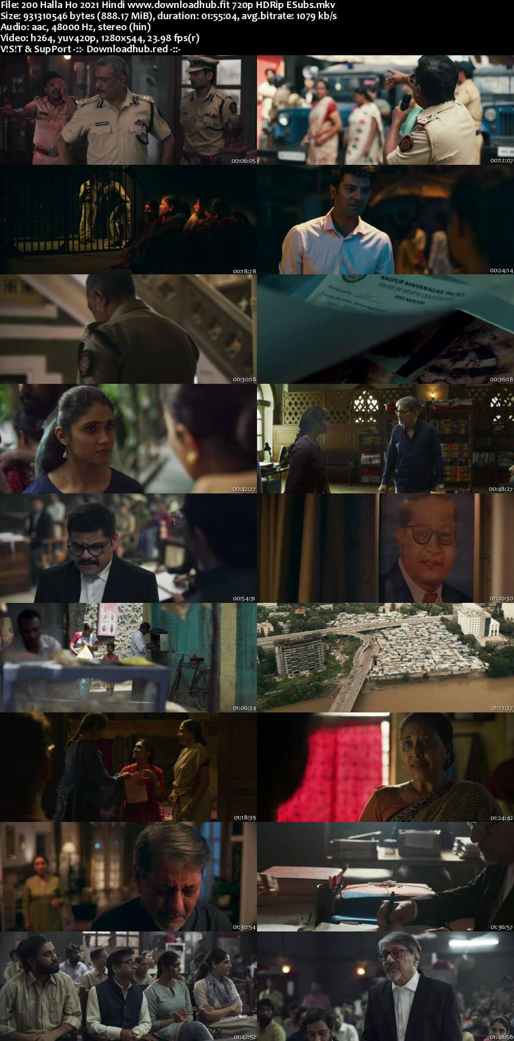 200 Halla Ho 2021 Hindi 720p HDRip ESubs