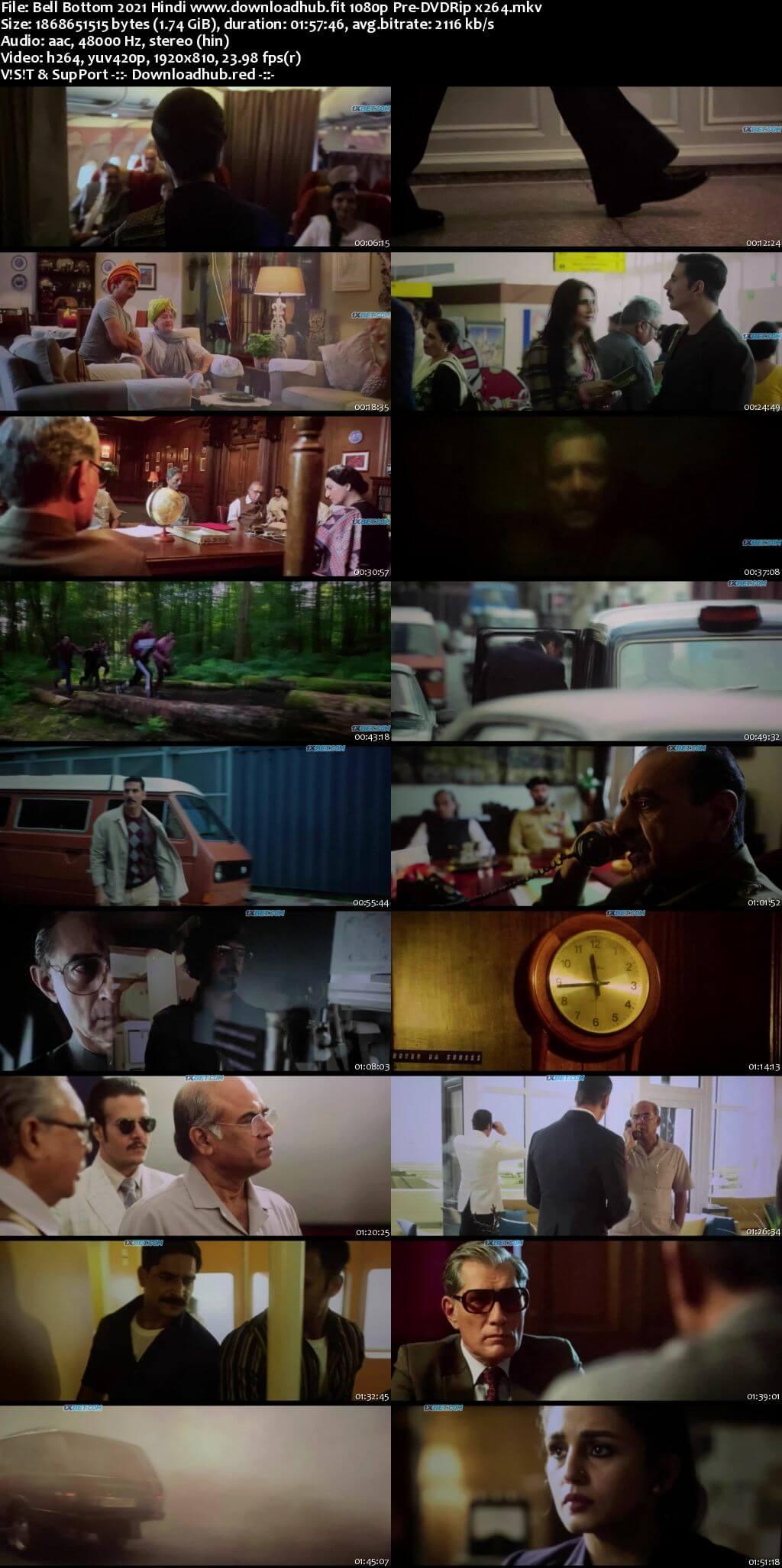 Bell Bottom 2021 Hindi 1080p 720p 480p Pre-DVDRip x264