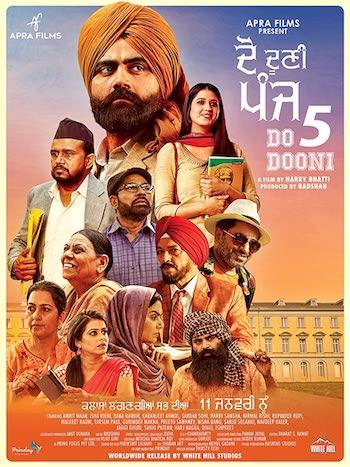 Do Dooni Panj 2019 Punjabi 720p HDTV 950mb