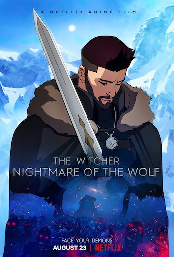 The Witcher Nightmare of the Wolf 2021 Dual Audio Hindi 720p WEB-DL 700mb