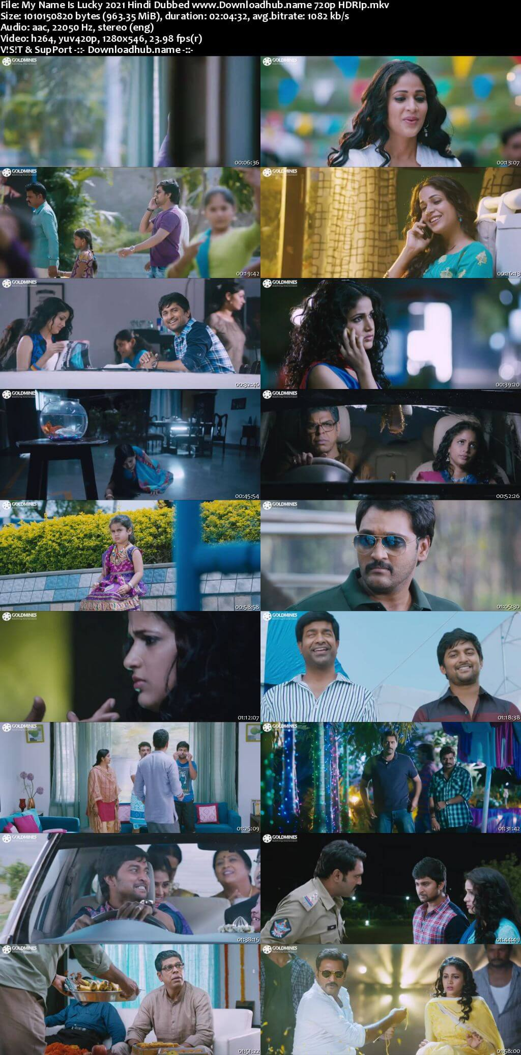 My Name Is Lucky 2021 Hindi Dubbed 720p HDRip x264
