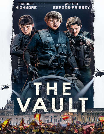 The Vault 2021 Hindi Dual Audio 650MB BluRay 720p ESubs HEVC