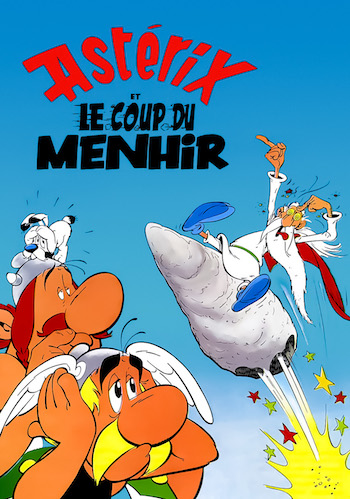 Asterix And The Big Fight 1989 Dual Audio Hindi 480p BluRay 280mb
